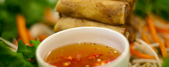 Nuoc Mam Sauce for Dipping Eggrolls