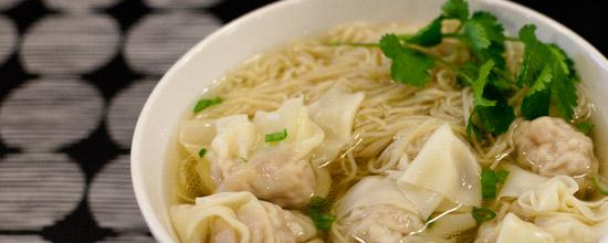 Recipe for Hong Kong Wonton Noodle Soup